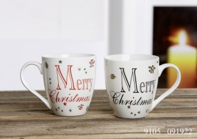Flirt By R&B 2er Set Jumbobecher Merry Christmas