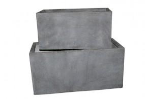 Pfl.kübel 2Sz. FC Main granit