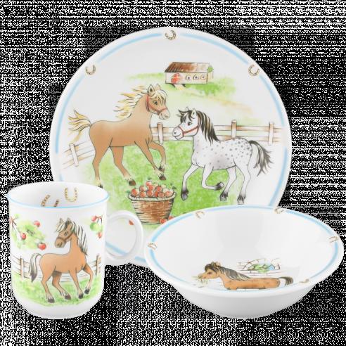 seltmann weiden kindergeschirr compact mein pony sch ihr online shop f r. Black Bedroom Furniture Sets. Home Design Ideas