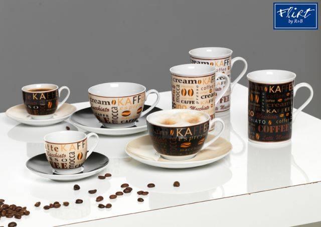 flirt by r b kaffee serie havanna kaffee serien gedeckter tisch sch ihr. Black Bedroom Furniture Sets. Home Design Ideas