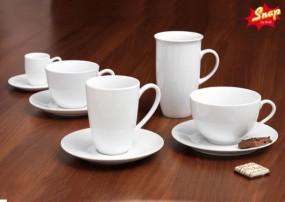 Snap By R&B Kaffee-Serie Bianco weiß
