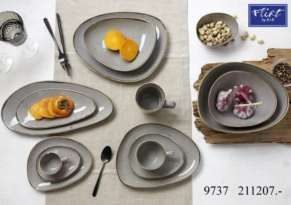 Flirt By R B Geschirr Serie Taupe Taste Espresso Set 12 Tlg Taupe