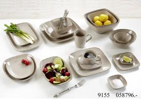 Ritzenhoff & Breker Geschirr-Serie Grau Casa