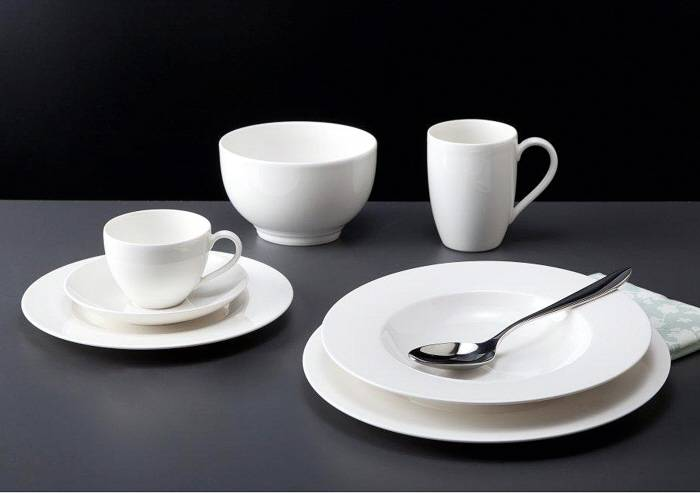 villeroy boch gallo design geschirr serie basic white